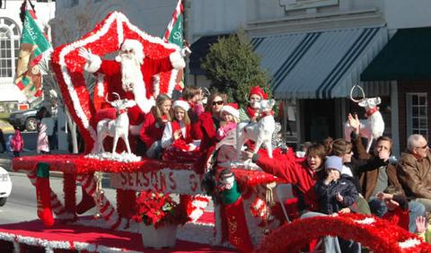 Schedule of all Nashville area Christmas Pardes