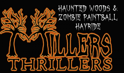 Zombie Hayride and Haunted Woods at Millers Thrillers just south of Nashville