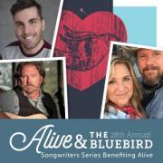Alive & The Bluebird: Rhett Akins, Jessi Alexander, The Warren Brothers