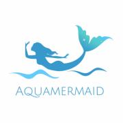 AquaMermaid logo mermaid png