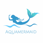 AquaMermaid logo mermaid png