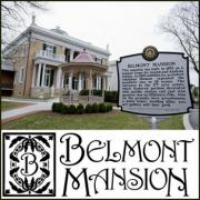 Christmas at the Belmont Mansion in Nashville Tennessee