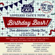 The Loveless Cafe's 70th Birthday Bash