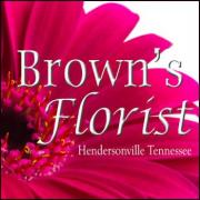 Brown's Florist in Hendersonville Tennessee