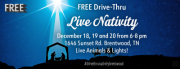 FREE Drive-Thru Live Nativity