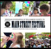 Main Street Festival in Historic Franklin Tennessee