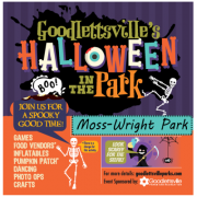 Halloween In the Park Moss-Wright Park Goodlettsville TN
