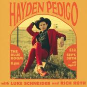 Hayden Pedigo live in The Blue Room at Third Man Records