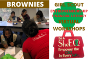 Girl Scout Business Badge Workshops for Brownies