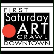 First Saturday Art Crawl downtown Nashville Tennessee