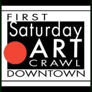 First Saturday Art Crawl downtown Nashville Tennessee