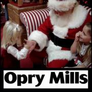 Santa visits with kids at Opry Mills Mall