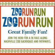 Zoo Run Run 5K in Nashville Tennessee