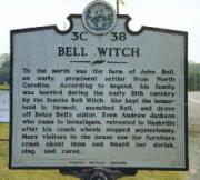 Bell Witch Historical Marker